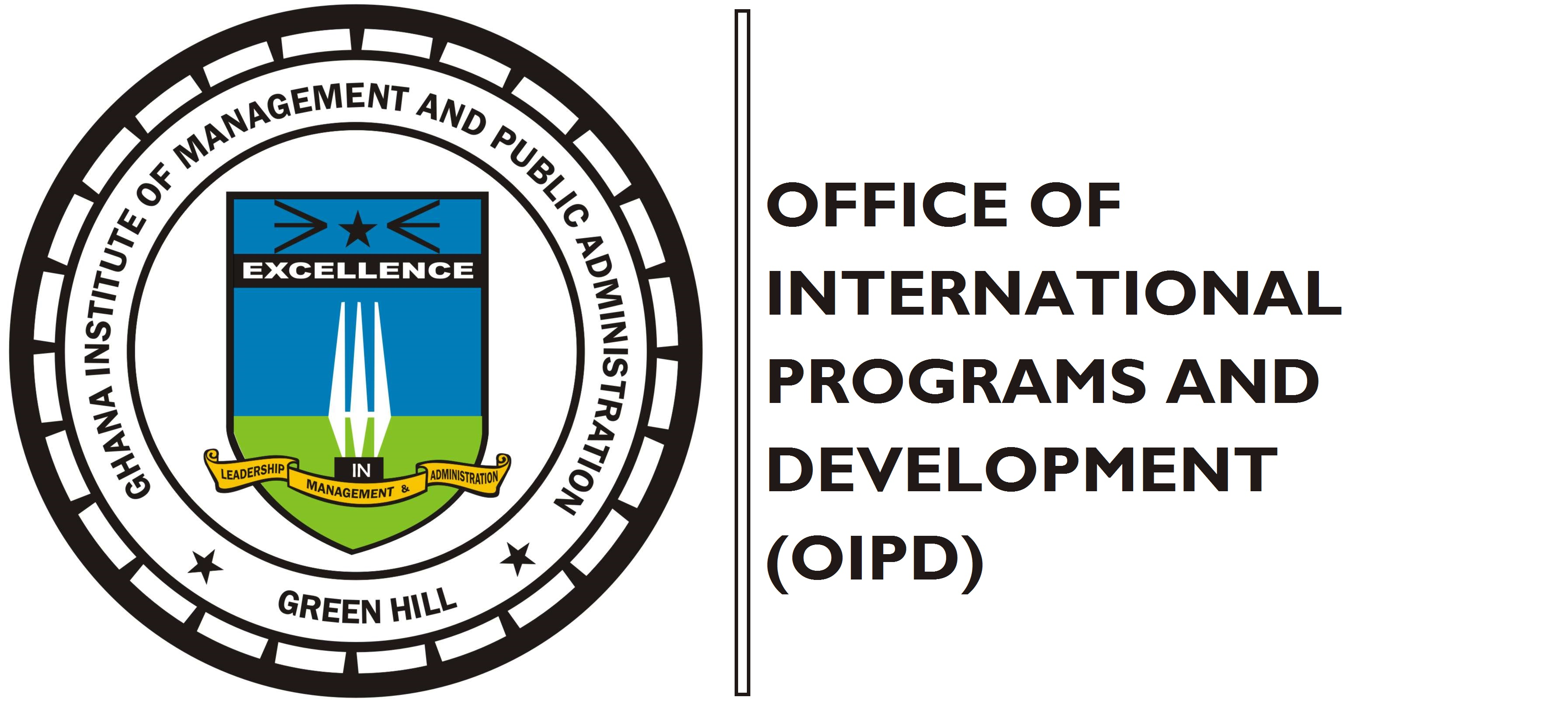 OFFICE OF THE INTERNATIONAL PROGRAMS AND DEVELOPMENT, GIMPA